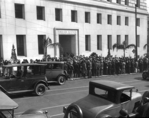 hall of justice 1927