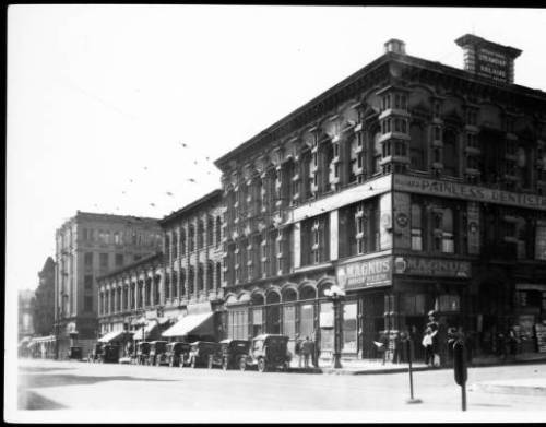 main and temple 1926