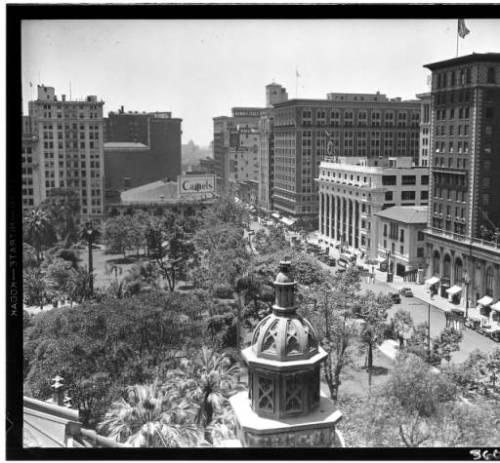 pershing square 1935