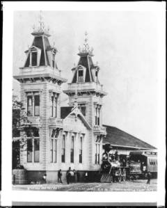 train station 1875