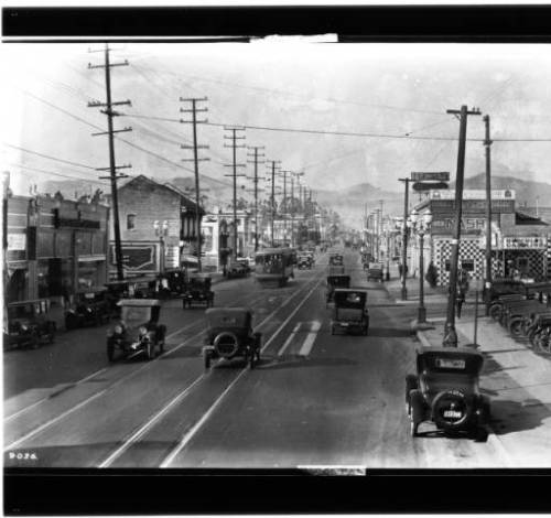 Western Ave 1924 n from 1st.