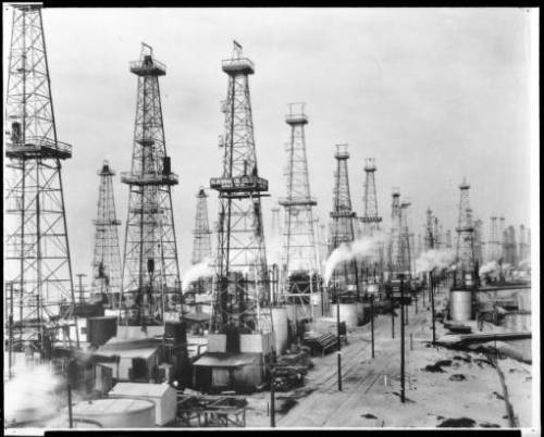 oil field 1930 playa del rey