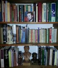 Brit Lib bookshelf