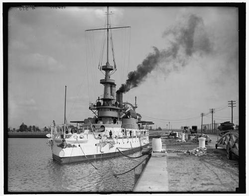 USS Indiana 1899