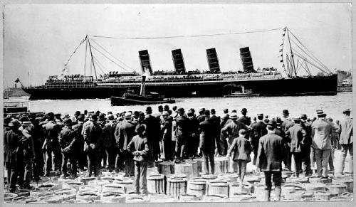 lusitania 1907
