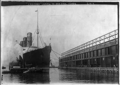lusitania 1908