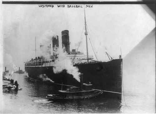 lusitania 1914
