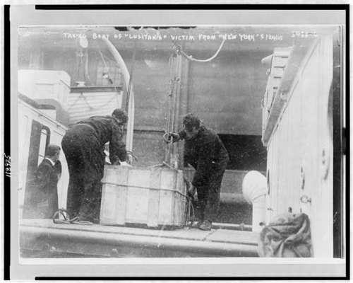 lusitania not survivor