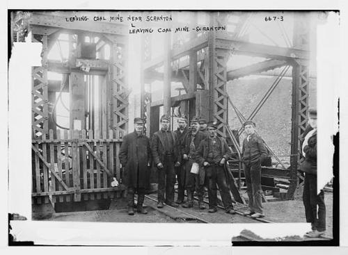 miners in scranton