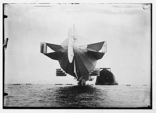 zepplin ship 1908