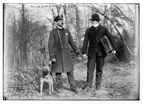 1912 policeman and crook