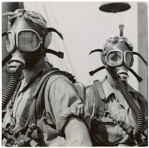 gasmask girls