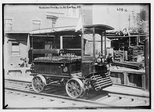 gasokine omnibus on rails