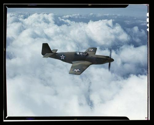 P-51 Mustang fighter plane