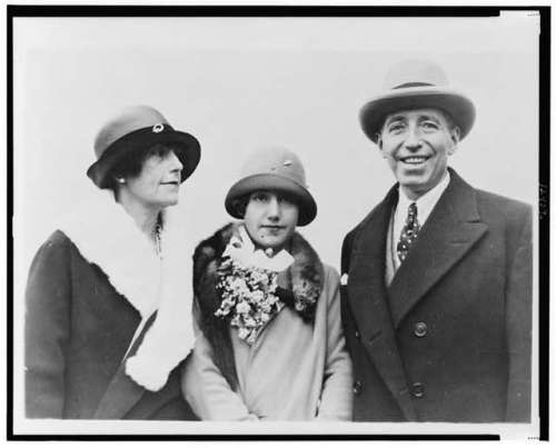 Pierre Cartier 1926- wife and daughter