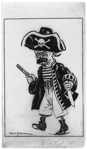pirate caricature