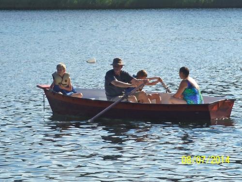 Boys in boat