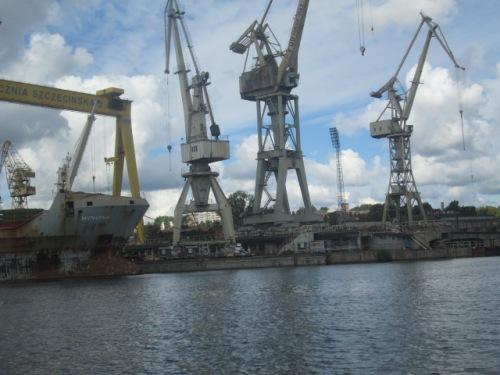 Szczecin Jureks boat ride with scott 060