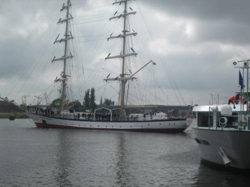 Sailing ship szczecin 106