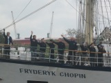 Sailing ship szczecin 117