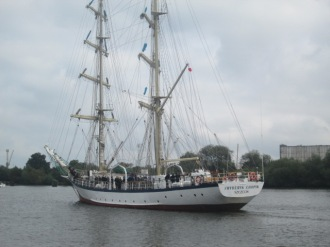 Sailing ship szczecin 121