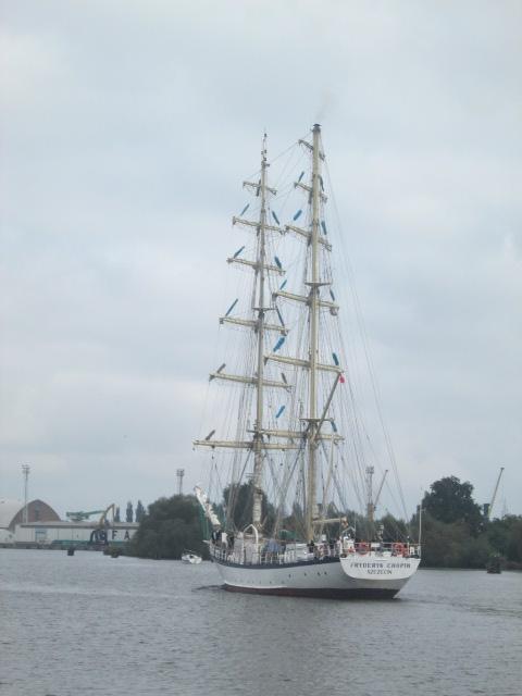 Sailing ship szczecin 127