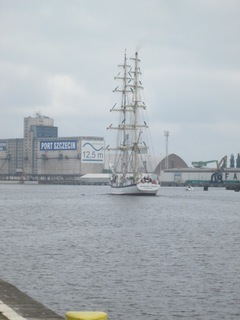 Sailing ship szczecin 130