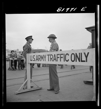 us army traffic only