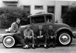 teens and car 1950s