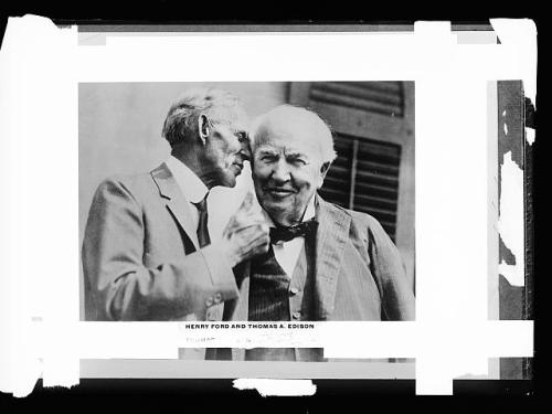 Edison and Ford 1930