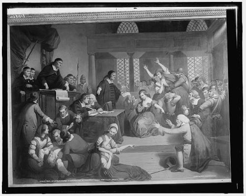 courtroom, witch trials