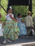 Dances and costumes from different parts of Mexico can be quite unique.