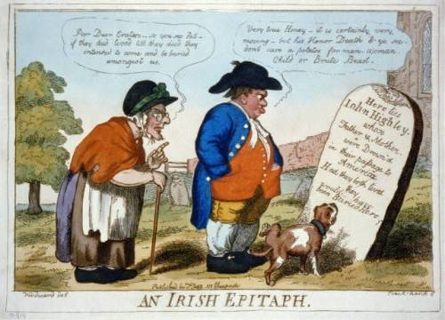 Irish epitaph