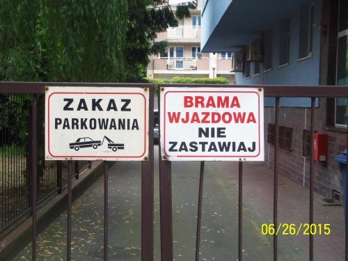 Polish signs