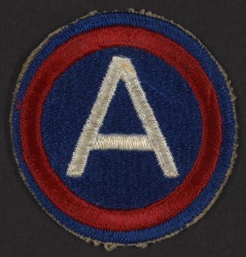 WWII 3rd army corporal patch