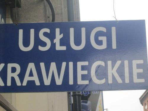 Polish sign 2