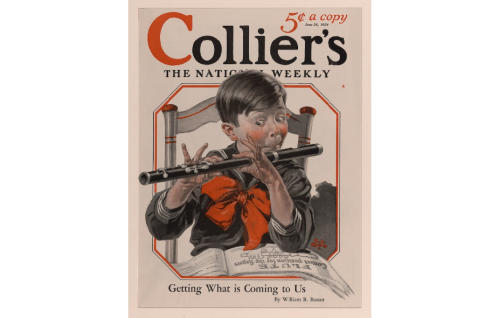 Colliers cover flute boy