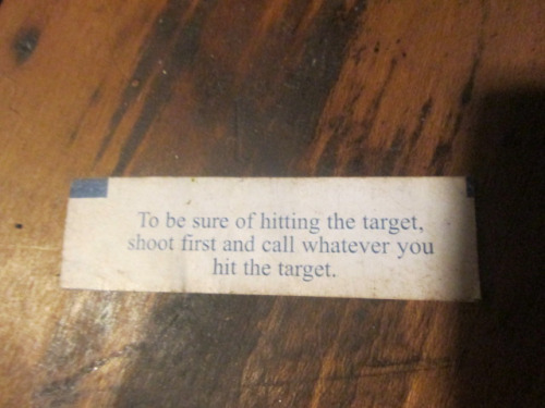 Fortune cookie 002