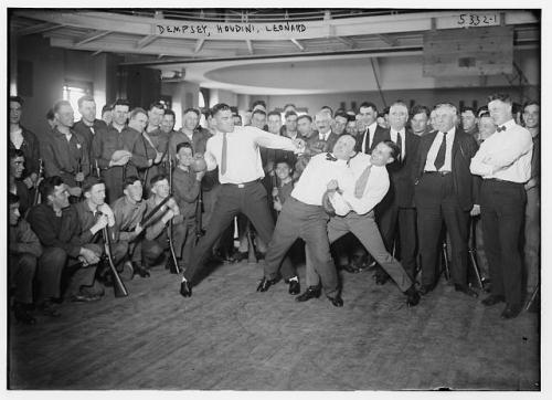 dempsey , houdini , leonard , boxing