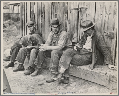 four men depression era