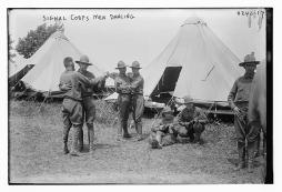 dancing signal corps