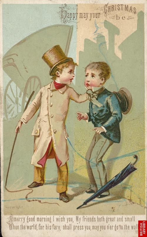 x-mas card 1840
