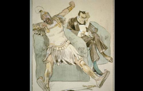 cartoon devil and greek warrior.png