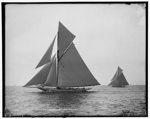 sailboat 1893 Vigilant