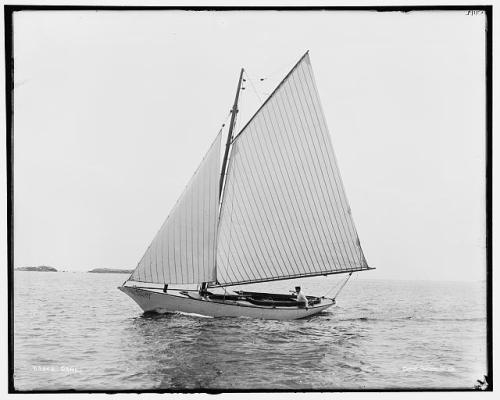 sailboat Carl 1880s