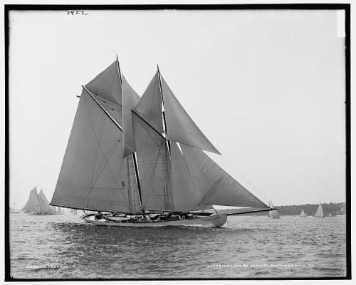 sailboat Hildegard 1900