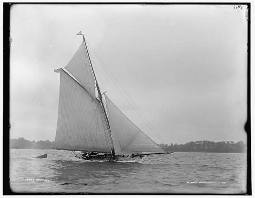 sailboat margorie 1890s