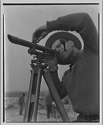 surveyor, sighting
