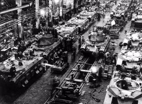 tank factory WWII