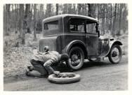 old car flat